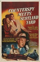 Counterspy Meets Scotland Yard movie poster (1950) picture MOV_60afab5e