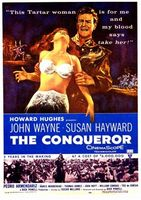 The Conqueror movie poster (1956) picture MOV_60bd5cdf