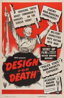 Design for Death movie poster (1947) poster MOV_60cc1f5a