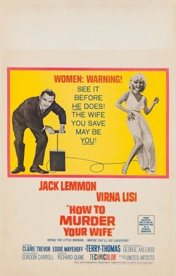 How to Murder Your Wife movie poster (1965) poster MOV_60de49c9