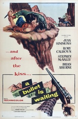 A Bullet Is Waiting movie poster (1954) poster MOV_61072d53