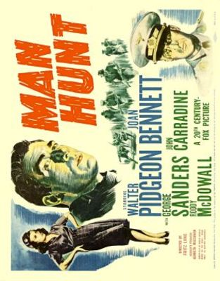 Man Hunt movie poster (1941) poster MOV_6143f8cc