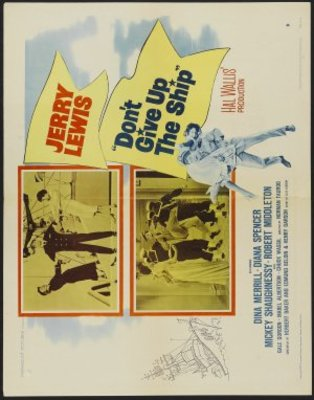 Don't Give Up the Ship movie poster (1959) poster MOV_61488dde