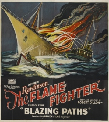 The Flame Fighter movie poster (1925) poster MOV_6172d8df