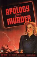 Apology for Murder movie poster (1945) picture MOV_617d409a