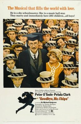 Goodbye, Mr. Chips movie poster (1969) poster MOV_61a82769