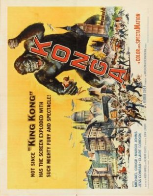 Konga movie poster (1961) poster MOV_61bfac26
