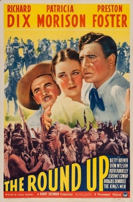 The Roundup movie poster (1941) poster MOV_6206ac13