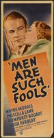 Men Are Such Fools movie poster (1938) picture MOV_62127ab5