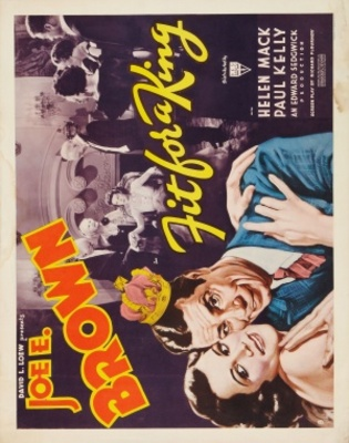 Fit for a King movie poster (1937) poster MOV_62177b84