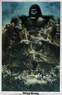 King Kong movie poster (1976) poster MOV_621e0089