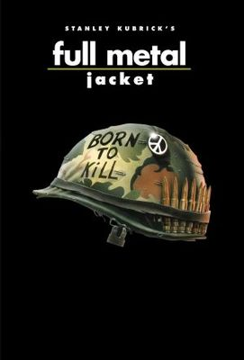 Full Metal Jacket movie poster (1987) poster MOV_622212ba