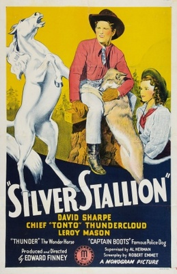 Silver Stallion movie poster (1941) poster MOV_6242cbbf