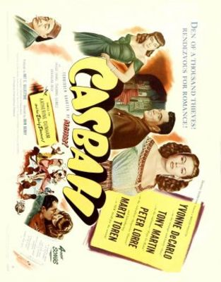 Casbah movie poster (1948) poster MOV_624b46e7