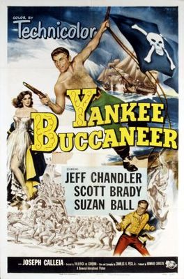 Yankee Buccaneer movie poster (1952) poster MOV_624c1c58