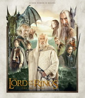 The Lord of the Rings: The Two Towers movie poster (2002) picture MOV_6250rb94