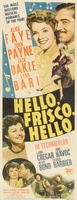Hello Frisco, Hello movie poster (1943) picture MOV_6259b93c