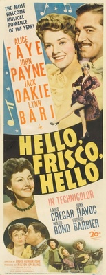 Hello Frisco, Hello movie poster (1943) poster MOV_6259b93c