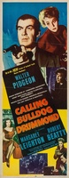Calling Bulldog Drummond movie poster (1951) picture MOV_626c3b60
