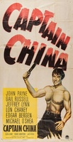 Captain China movie poster (1950) picture MOV_6272fe14