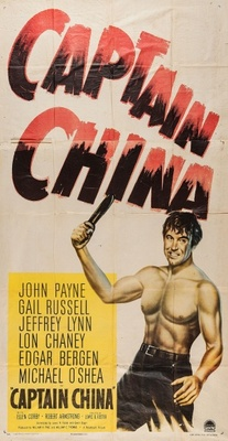 Captain China movie poster (1950) poster MOV_6272fe14