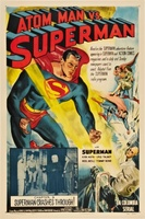 Atom Man Vs. Superman movie poster (1950) picture MOV_627907e7