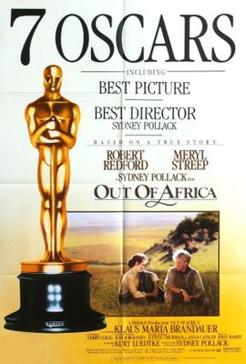 Out of Africa movie poster (1985) poster MOV_627fd40e