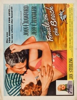 Female on the Beach movie poster (1955) picture MOV_62b01509