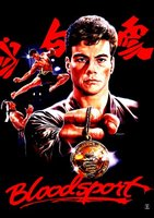Bloodsport movie poster (1988) picture MOV_62d2c1b7