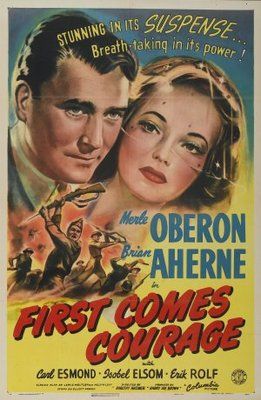 First Comes Courage movie poster (1943) poster MOV_62d340b4
