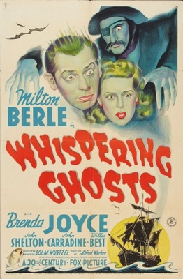 Whispering Ghosts movie poster (1942) poster MOV_62d6004d