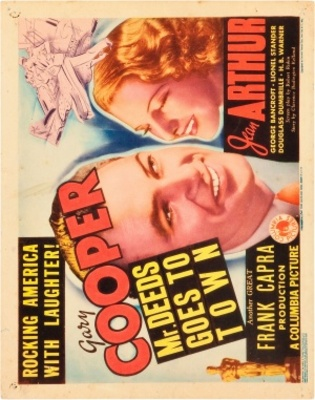 Mr. Deeds Goes to Town movie poster (1936) poster MOV_62d62730