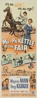 Ma and Pa Kettle at the Fair movie poster (1952) picture MOV_62dad106