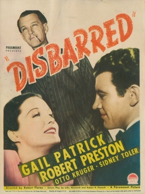 Disbarred movie poster (1939) poster MOV_62e068c0