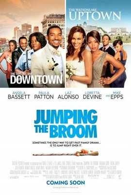 Jumping the Broom movie poster (2011) poster MOV_62e29564