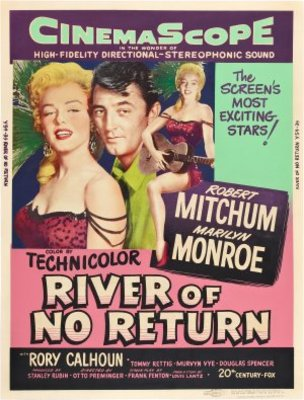 River of No Return movie poster (1954) poster MOV_62fb9180