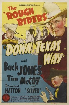 Down Texas Way movie poster (1942) poster MOV_6306a5ef