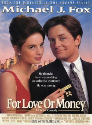 For Love or Money movie poster (1993) poster MOV_6314d858