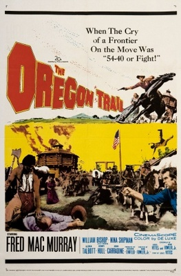 The Oregon Trail movie poster (1959) poster MOV_631a275f