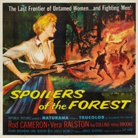Spoilers of the Forest movie poster (1957) picture MOV_6346ac2c