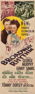 Broadway Rhythm movie poster (1944) poster MOV_636e5d12