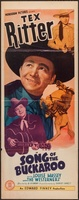 Song of the Buckaroo movie poster (1938) picture MOV_637632d1