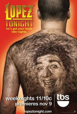 Lopez Tonight movie poster (2009) poster MOV_637d83c0