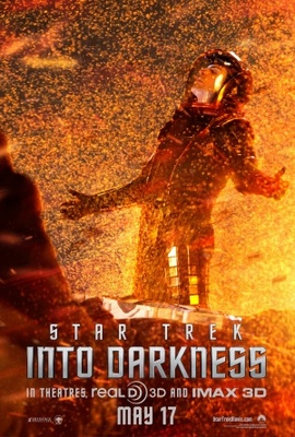 Star Trek Into Darkness movie poster (2013) poster MOV_63855279