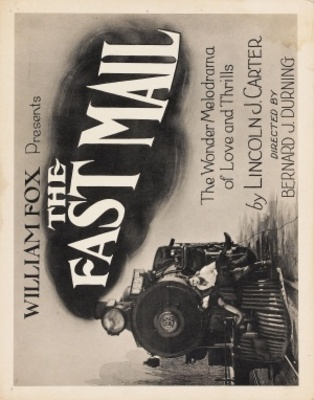 The Fast Mail movie poster (1922) poster MOV_63893a56