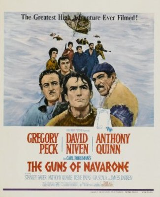 The Guns of Navarone movie poster (1961) poster MOV_6390977d
