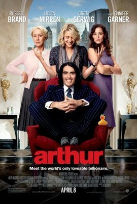 Arthur movie poster (2011) poster MOV_63aab9fa