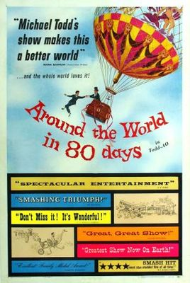 Around the World in Eighty Days movie poster (1956) poster MOV_63add224
