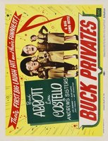 Buck Privates movie poster (1941) picture MOV_63b1de0c