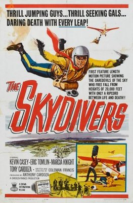 The Skydivers movie poster (1963) poster MOV_63b438e6